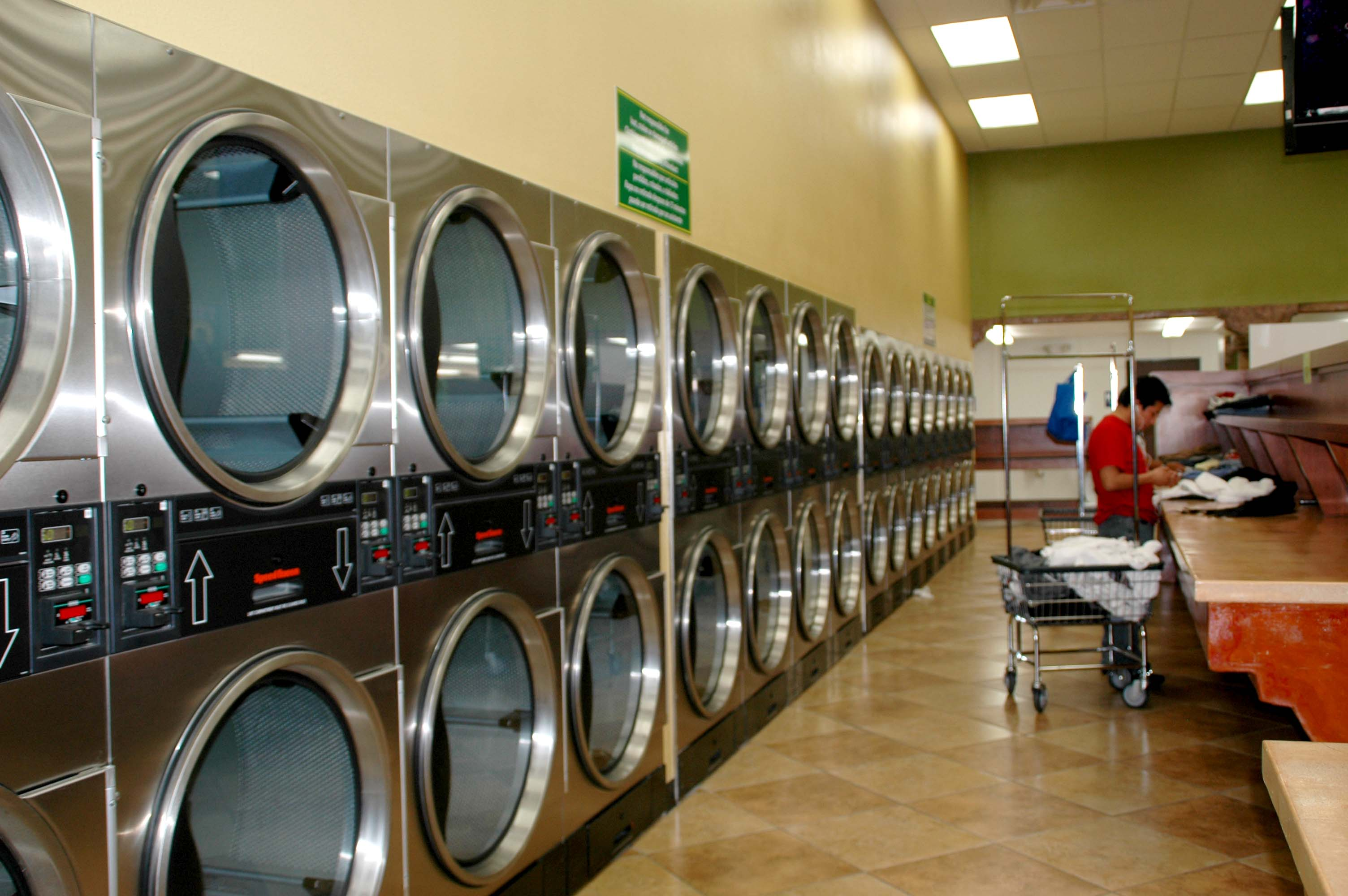 Build A New Laundromat Coin Laundry Design Services