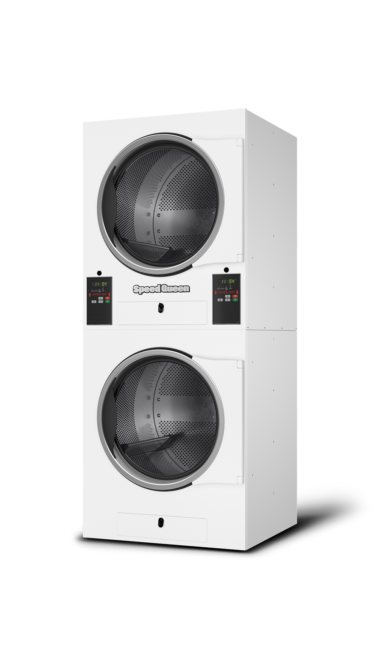 Speed Queen Quantum Non-Vended Stack Tumble Dryers