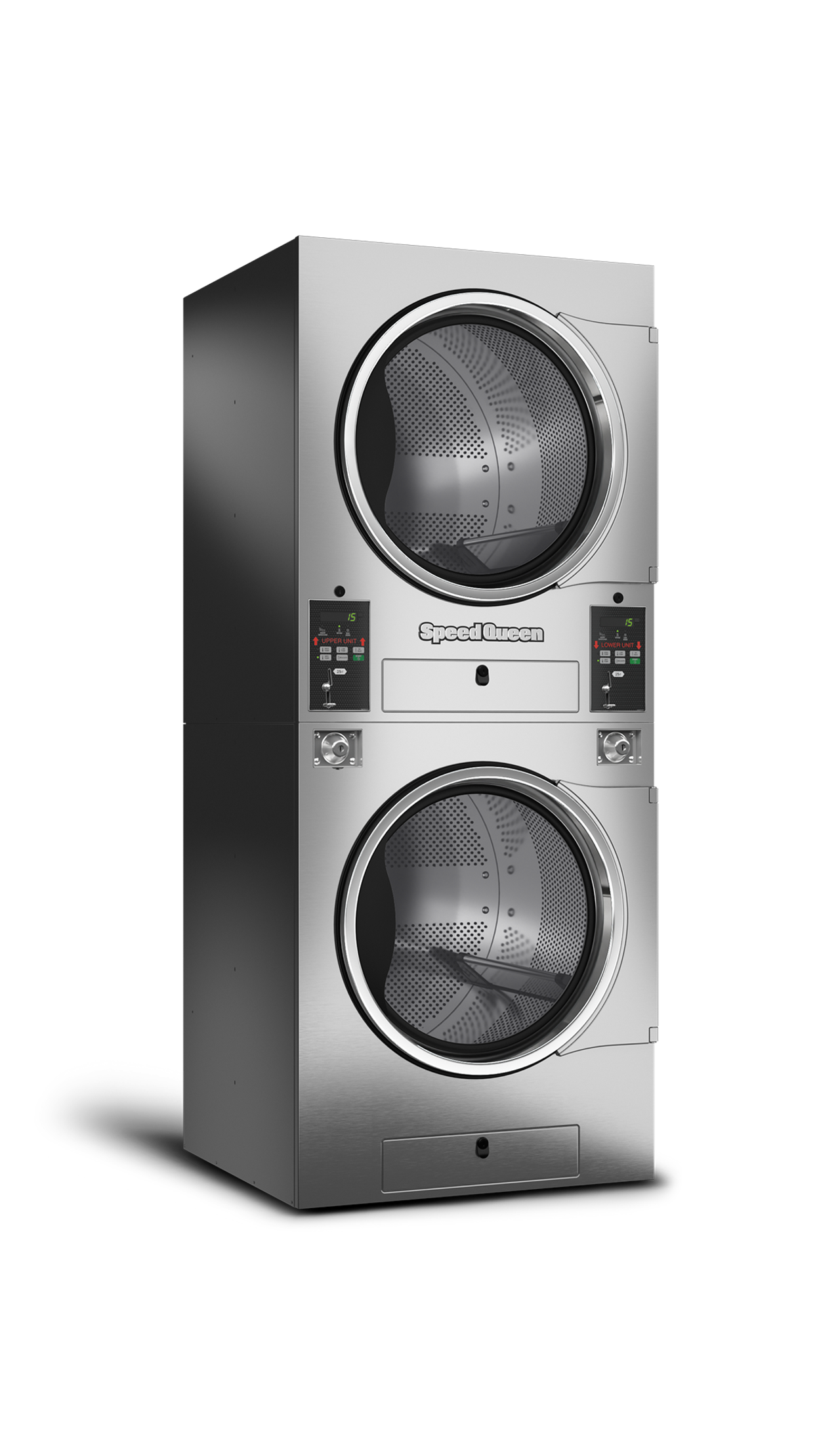 Speed Queen Gold Touch Stack Tumble Dryers