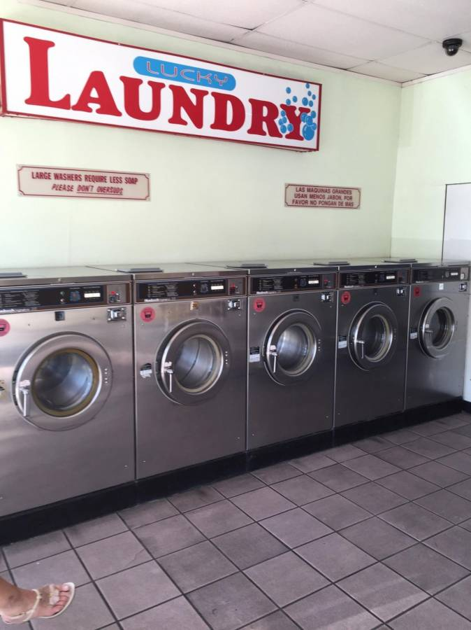coin laundry machine for sale