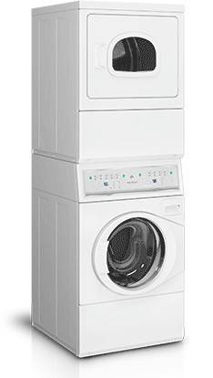 Speed Queen Ltge5asp115tw01 Stack Washer Dryer 22 18 Lb Capacity Gas
