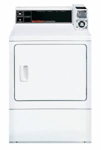 Speed Queen - Speed Queen SDGSXRGS111TW02 Dryer 18 lb Capacity - White, Gas