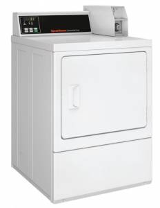 Speed Queen - Speed Queen SDGNCRGS113TW02 Dryer 18 lb Capacity - White, Gas