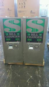 Used Rowe BC1400 Coin Changers - 2 Available