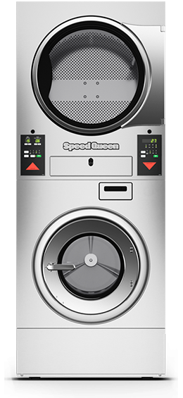 Stacked Washer Extractor/Tumble Dryers