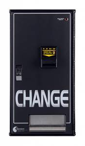 Standard Changer Equipment - Standard MC200 Bill to Coin Changer (Front Load for Change or Tokens)