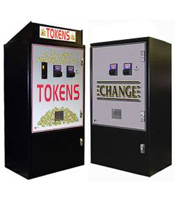 Standard Changer Equipment - Standard MC920-DA Bill to Coin Changer (Front Load for Change or Tokens)