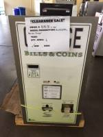 Laundry Equipment - Used Commercial Laundry Equipment - New Standard Changer BCX1010RL Bill-Coin Changer