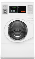 Laundry Equipment Selector - Speed Queen - Speed Queen SFNNCASP113TW01 Front Load 22 lb Capacity - White, Pump Drain