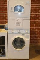 Laundry Equipment - Used Commercial Laundry Equipment - Used Speed Queen LTSA9AW Stack Washer Dryer