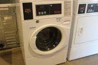 Laundry Equipment - Used Commercial Laundry Equipment - Used Speed Queen SFNBYASP113W01 Horizon Washer